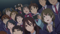 Mitsuru and Nao in the Audience