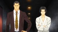 Gin and Hitoshi talking