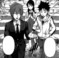 Soma and Megumi follows Satoshi