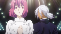 Hisako criticised by Akira (anime)
