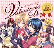 Shokugeki no Soma Valentine's Day Promo