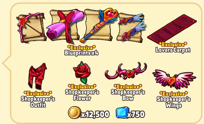 Valentine's Day Package Contents