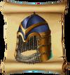 Helmets Spangenhelm Blueprint