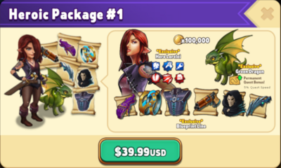 Heroic 1 Package Contents