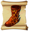 Boots Flame Greaves Blueprint