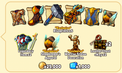 Warrior Package Contents