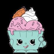 Ice cream queen easter ct art