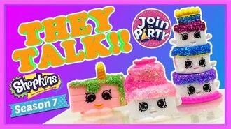 Season 7 GLITTER Shopkins Shopkins Animation How to make custom Glitter Shopkins Shopkins
