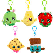 Shopkins plush hangers