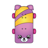 Katie skateboard ct variant art