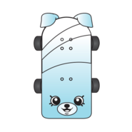 Katie skateboard ct art