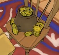 Gold bag 1k