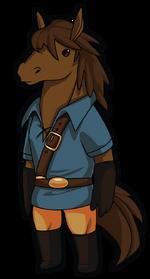 Horse Adventurer Art