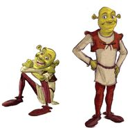 Shrek Teen Years