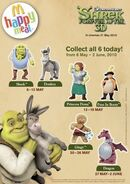 Mcdonalds shrek-forever-after-3D malaysia 2010