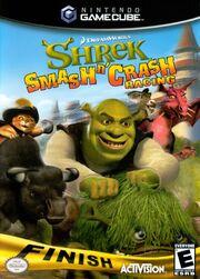 Shrek Smash n Crash Racing Cover