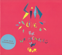 The We Meaning You Tour (Copenhagen 12.05.2010) cover