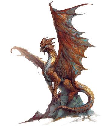 Copper-dragon-wyrmling