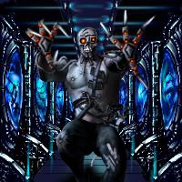 Cyborg Raider