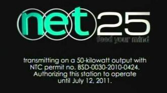 NET 25 - Sign on and Sign Off