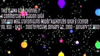 GMA 7 Sign Off (2000-2003)