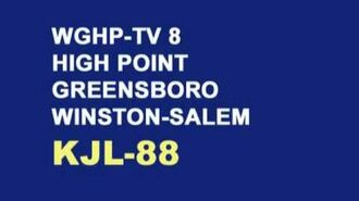 WGHP-TV 8, High Point NC - Late 1970s TV Code Bumper & Sign-Off Re-creation