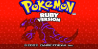 Trainer's School - Pokémon Ruby & Sapphire