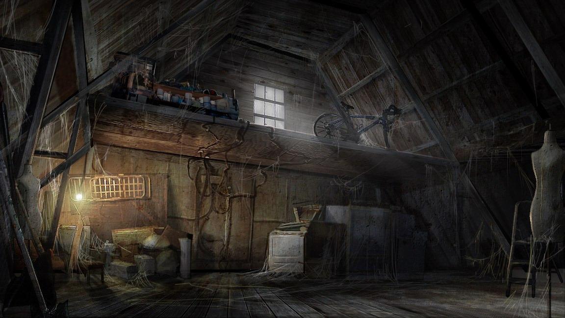 Image Attic Jpg Silent Hill Wiki Fandom Powered By Wikia