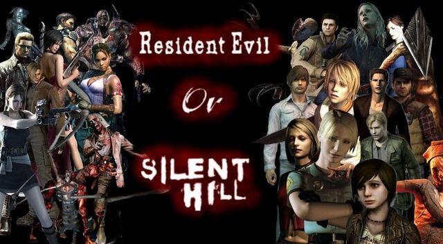 File:Resident Evil VS Silent Hill.jpg