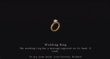 Message on the Wedding Ring