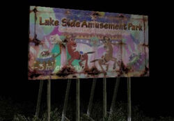Lakeside Amusement Park billboard