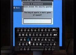 PC password