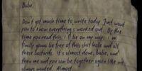 Prisoner's Letter (4)