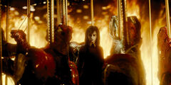 Dark Alessa on the carousel (Revelation 3D)