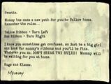 Mother's Note