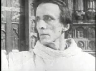 Nigel De Brulier in The Hunchback of Notre Dame