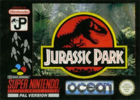 200px-Jurassic Park (SNES) Coverart