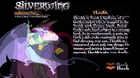 Silverwing characters (season set DVD extra's)