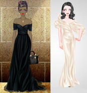 Silvie's Gala characters