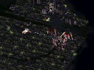 Empire City-Jan. 18, Fireworks