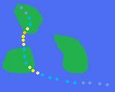 Hurricane Fred's Path
