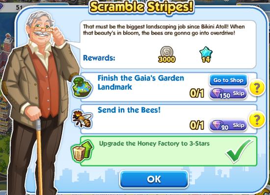 Quest - Scramble Stripes!