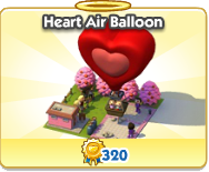Heart Air Balloon