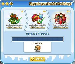 Santa's Workshop Upgrade 3