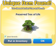 Preserved Tree of Life Dialog