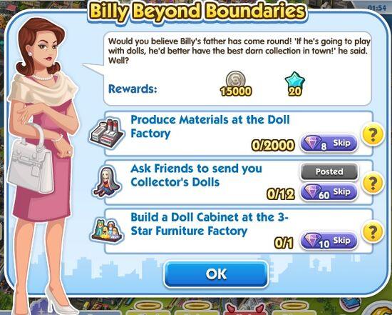Quest-billy beyond boundaries