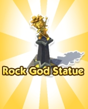 Rock God Statue