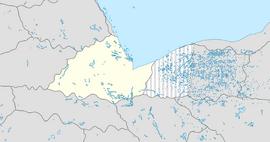 Yokistan location map
