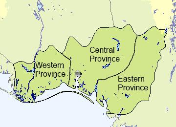 Provinces of Gaia