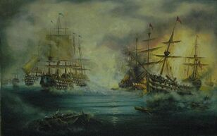History- Naval conflict